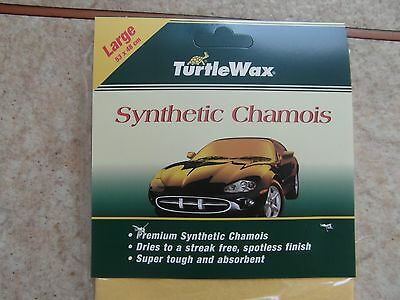 100 Synthetic Chamois Large Size 53Cm X 48Cm By Turtle Wax
