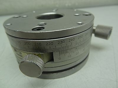 Newport Tr80Bl Precision Rotation Stage / Rotary Mount Optical Laboratory (C)