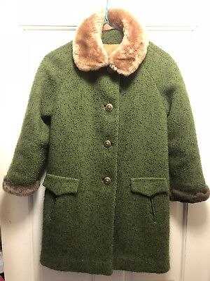 Vintage Child/Girls Coat Ambercrombie & Fitch