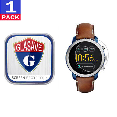 GLASAVE Tempered Glass Screen Protector For Fossil Q Explorist Gen 3
