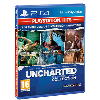 Uncharted: The Nathan Drake Collection PSHits PS4 (SP)