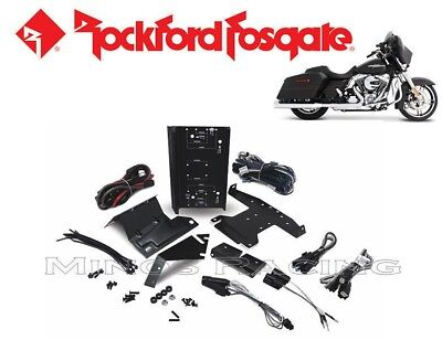 Rockford Fosgate Harley Amplifier Install Kit 2014-2019 Rfkhd