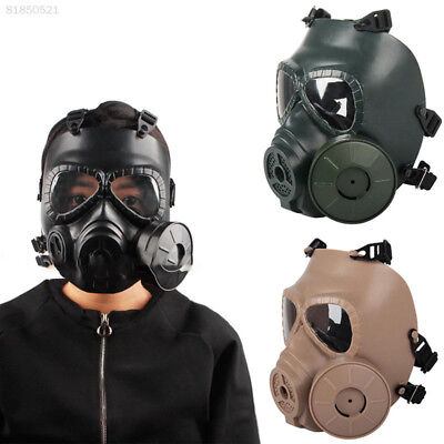 AB45 Cs Mask Tacticalmask Face Mask Green Mud Color Cs Outdoor Eat Chicken Mask