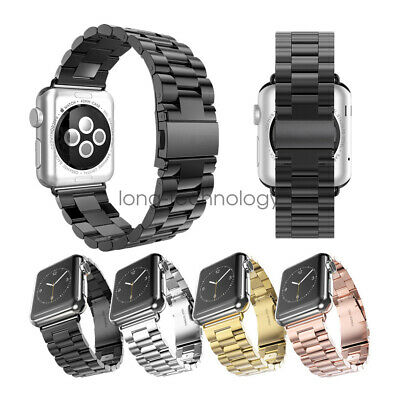 For Apple Watch Series 4 3 Stainless Steel Watch Strap Band 44mm 42mm 40mm 38mm