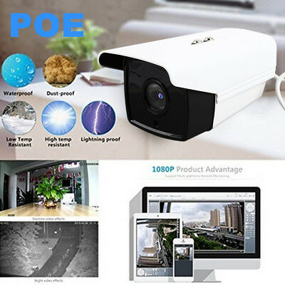 21E5 POE IP Camera Waterproof Premium 1080P 200W Home Security Video Recorder