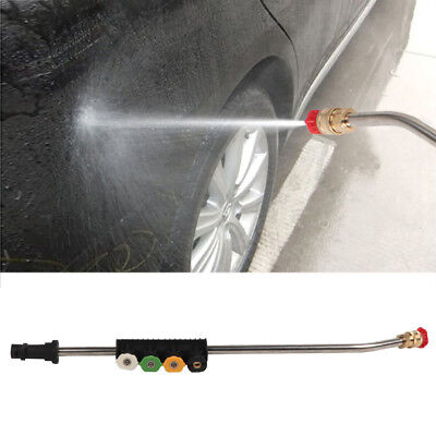 Pressure Washer Jet Lance Spray Wand + 5 Quick Nozzle Tips For Karcher K1-K7
