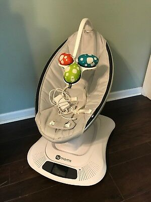 EUC Mamaroo 4moms Infant Swing Baby (Gray) Excellent Condition