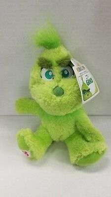"""Build A Bear Baby Young Grinch 8"""" Mini Stuffed Plush Dr Seuss Christmas Sold Out"""