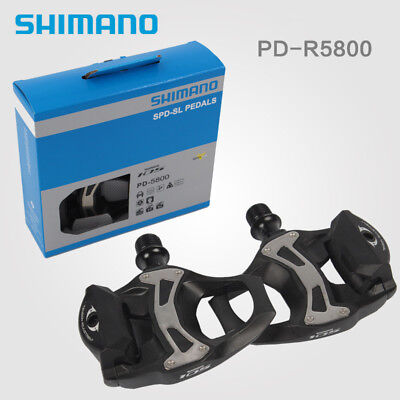 c77aeed3201 Shimano 105 Carbon SPD-SL Clipless Road Bike / Cycle Pedals / Cleats PD-