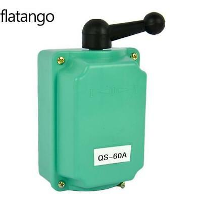 60A Drum Switch Forward/Off/Reverse Motor Control Rain-proof Reversing FLTO