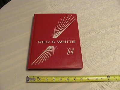 1964 Iowa City High School Yearbook City High Little Hawks Red & White Pictures