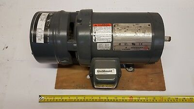 US Motors Shur Stop Electric Brake with Emerson F016 Motor 1HP 3ph 415V 50Hz New