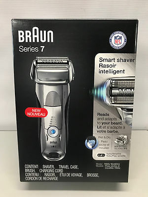 NEW Braun Series 7 7893s Wet & Dry Electric Shaver for Men w/ Travel Case ES3 C