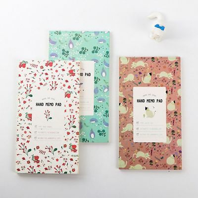 Journal Diary Pirate Blank Notepad Weekly Notebook Flowery Design Planner Book