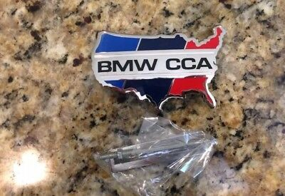 Official Bmw CCA Car Club of America Grill Badge Emblem Special M Edition