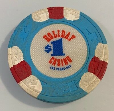 Holiday Casino $1 Casino Chip Las Vegas Nevada 2.99 Shipping