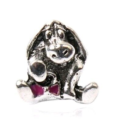 S925 whinnie the pooh, Eeyore European charm bead. Pandora's Vault inc