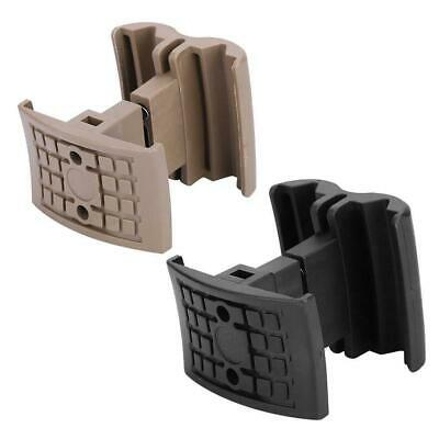Tactical Coupler Pouch Mag Magazine Double ABS Link Clamp kit Mount Holder