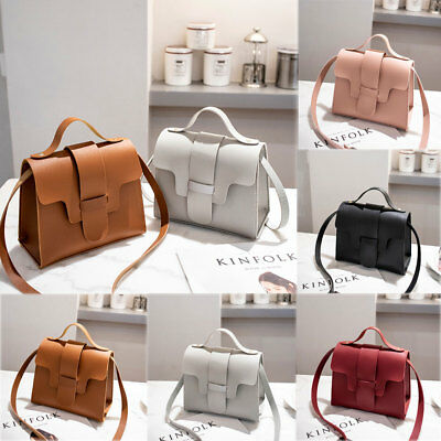 New Women Fashion PU Leather Small Shoulder Bag Ladies Crossbody Bag Handbag