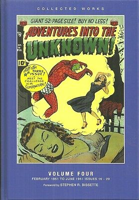 Adventures Into The Unknown - Volume 4 - Precode Horror Comics 1951 - Full Color
