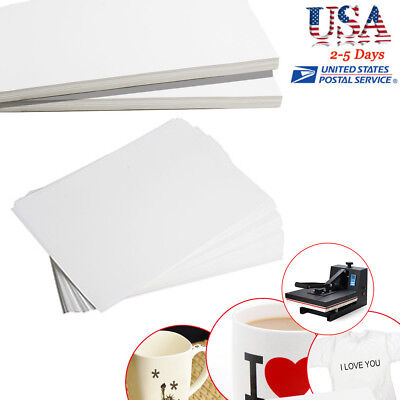 100 Sheets x A4 Dye Sublimation Heat Transfer Paper Muti-function USA SHIP