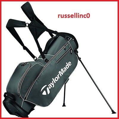 TaylorMade 2017 TM 5.0 Stand Golf Bag, Grey/White Color:Grey/White