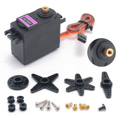 New MG996R MG996 Gear Servo Motor Big Torque For RC Helicopter Car Robot Arduino