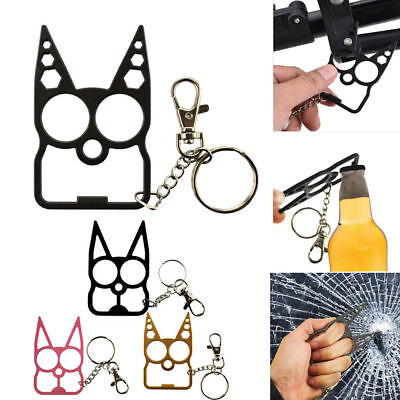Classic Personal Protection Tools Key Chain Metal Keyring Gift
