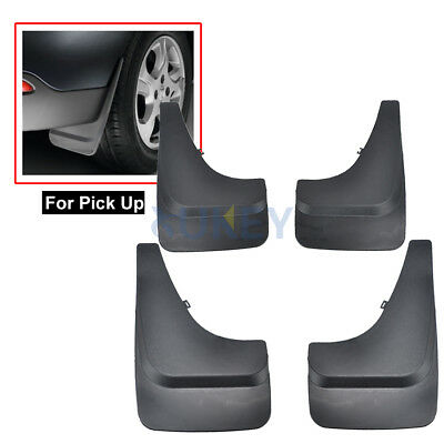 Universal Mud Flaps Pick Up Van Fron Rear Splash Guards Pickup Mudguards Fender