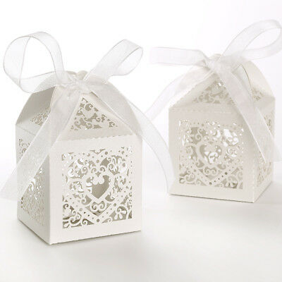Luxury Gift Favour Boxes For Baby Or Bridal Shower Packet Of 100PCS