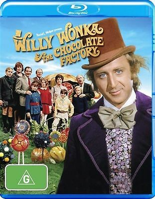 Willy Wonka and the Chocolate Factory (1971)  Blu ray