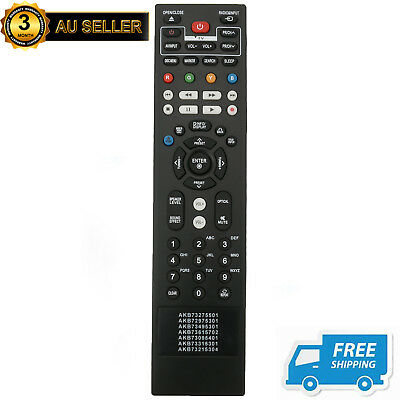 New Replaced Remote AKB72975301 for LG Blu-ray Player BX580 BD570 BD550 BD590