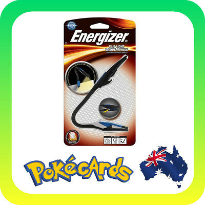 Energizer Lightweight LED Clip Book Light for Reading - 11 Lumens