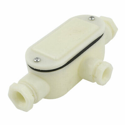 "Fountain Underwater 1//2/""PT Dia 3 Routes Waterproof Plastic Junction Box LW"