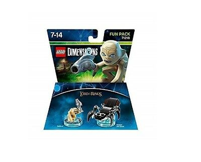 Lego Dimensions, Lord of the Rings, Gollum Fun Pack. Set 71218