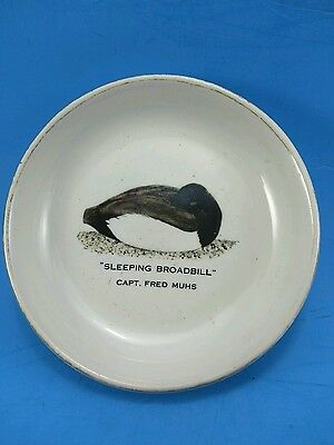 Ducks Unlimited Coaster Duck Plate - Sleeping Broadbill - NY - 1979
