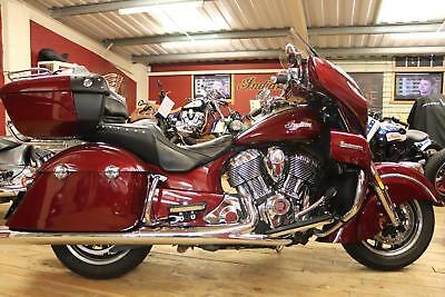 2017 Indian Roadmaster. Low Miles + Extras!
