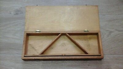 Moore & Wright Plywood/wood Box For Multi Purpose Square.