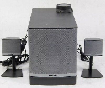 Bose Companion 3 Series II Multimedia Desktop Speaker System