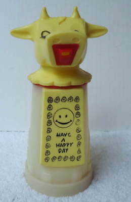 Vintage Moo-Cow Creamer Have A Happy Day From Whirley Industries #89