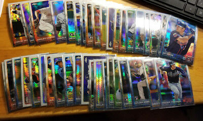 2015 Topps Chrome Prism Refractors Fill your set you pick choice 3.33 flat ship