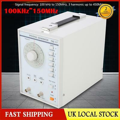 TSG-17 High Frequency RF Signal Generator 100KHz~150MHz RF/AM signal waveform UK