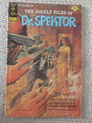 1975 Vintage The Occult Files of Dr. Spektor Comic Book Gold Key June No. 14