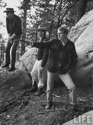 Steve McQueen (King of Cool) - 8x10 Photo - Magnificent Seven - Great Escape 12