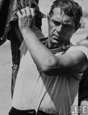 Steve McQueen (King of Cool) - 8x10 Photo - Magnificent Seven - Great Escape 14