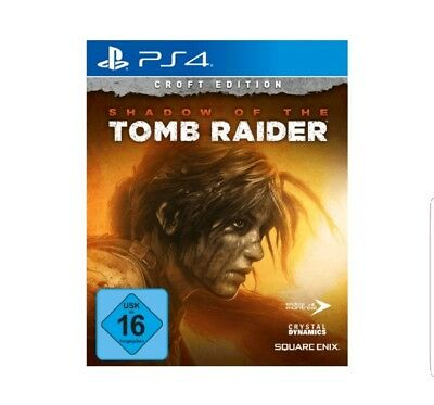 Shadow of the Tomb Raider Croft Edition | PS4 NEU & OVP | UNCUT | Blitzversand