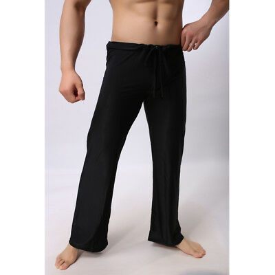 Men's Casual Long Pants Trousers Sport Yoga Fitness Soft Loose Homewear N7