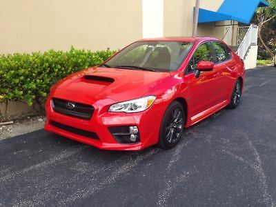 2015 Subaru WRX Premium 2015 Subaru WRX Premium (red) | low mileage | pristine condition