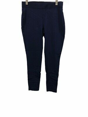 Women with Control Womens Petite Pull-On Ponte Royale Leggings Navy PXS Size QVC
