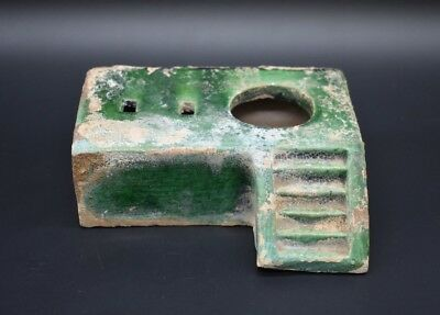 Ming Dynasty Chinese glazed terracotta platform C. 14th - 17th century AD
